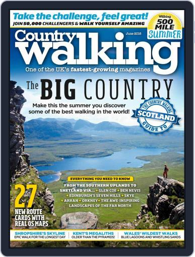 Country Walking June 1st, 2018 Digital Back Issue Cover