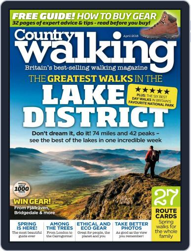 Country Walking April 1st, 2018 Digital Back Issue Cover