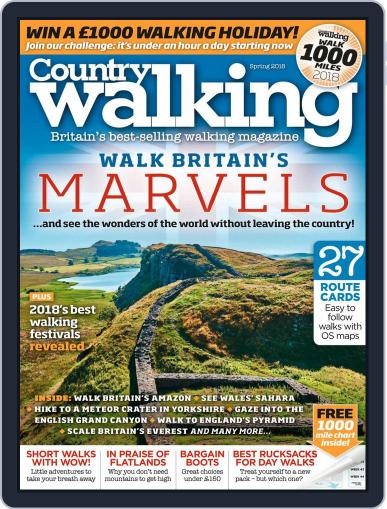 Country Walking (Digital) March 2nd, 2018 Issue Cover