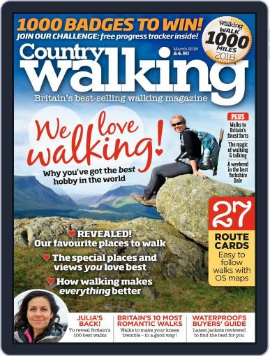 Country Walking (Digital) March 1st, 2018 Issue Cover