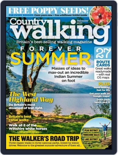 Country Walking (Digital) September 1st, 2017 Issue Cover