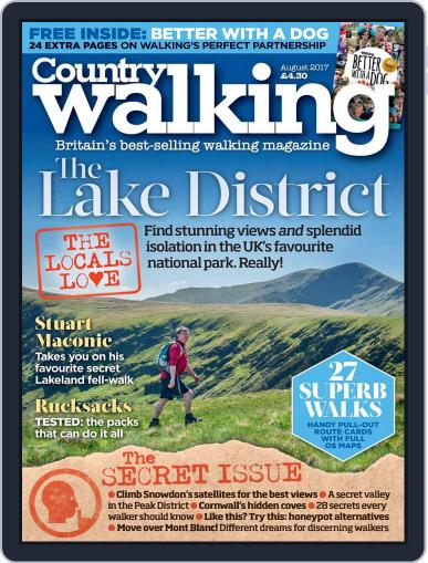 Country Walking August 1st, 2017 Digital Back Issue Cover
