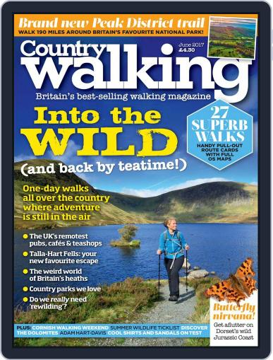 Country Walking June 1st, 2017 Digital Back Issue Cover