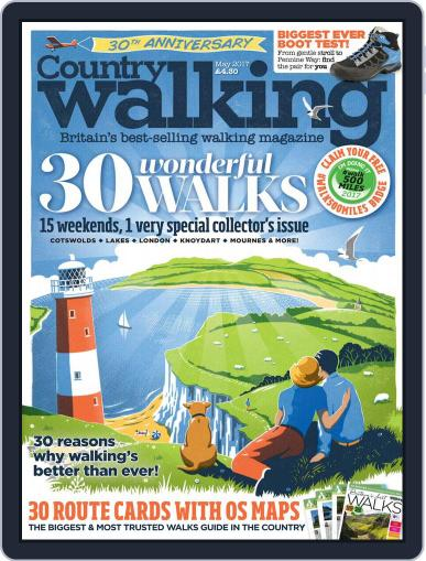 Country Walking May 1st, 2017 Digital Back Issue Cover