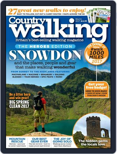 Country Walking (Digital) March 1st, 2017 Issue Cover
