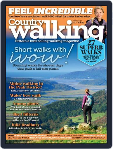 Country Walking (Digital) February 1st, 2017 Issue Cover