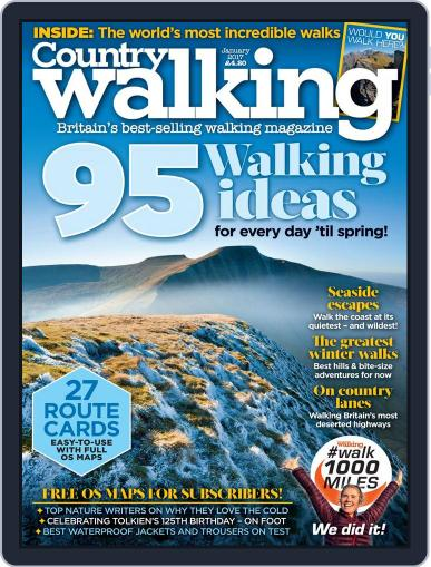 Country Walking January 1st, 2017 Digital Back Issue Cover
