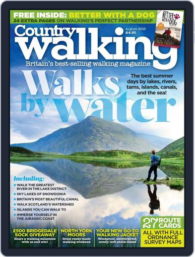 Country Walking (Digital) August 1st, 2016 Issue Cover