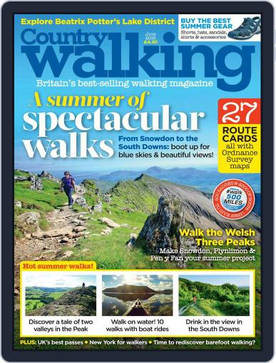 Country Walking (Digital) June 1st, 2016 Issue Cover