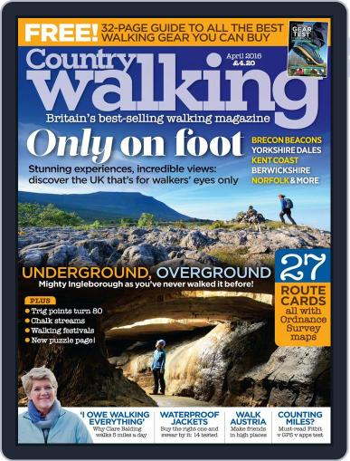 Country Walking (Digital) April 1st, 2016 Issue Cover