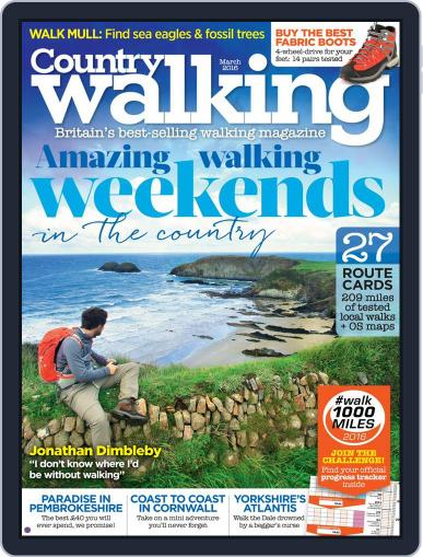 Country Walking (Digital) March 1st, 2016 Issue Cover