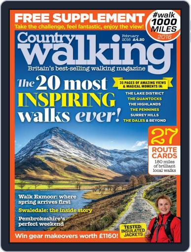 Country Walking (Digital) February 1st, 2016 Issue Cover