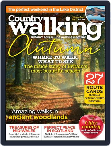 Country Walking (Digital) November 1st, 2015 Issue Cover