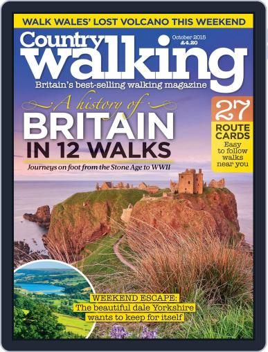 Country Walking October 1st, 2015 Digital Back Issue Cover