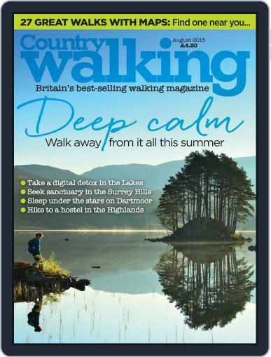 Country Walking (Digital) August 1st, 2015 Issue Cover
