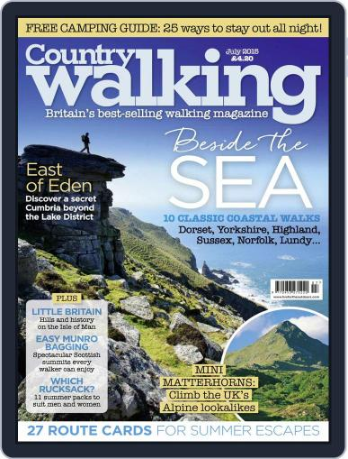 Country Walking (Digital) July 1st, 2015 Issue Cover