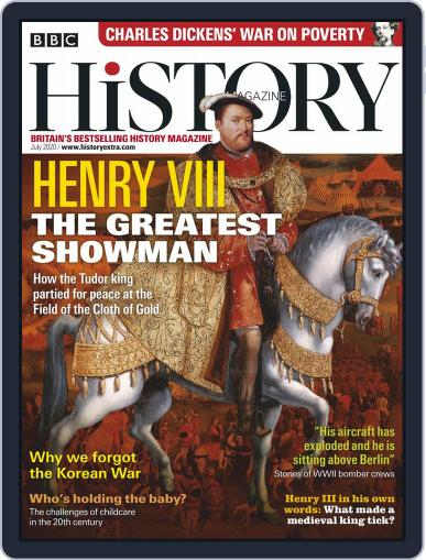 Bbc History July 1st, 2020 Digital Back Issue Cover