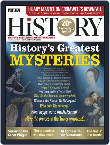 Bbc History June 1st, 2020 Digital Back Issue Cover