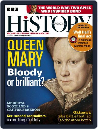 Bbc History April 1st, 2020 Digital Back Issue Cover