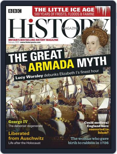 Bbc History (Digital) February 1st, 2020 Issue Cover