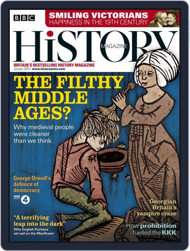 Bbc History January 1st, 2020 Digital Back Issue Cover