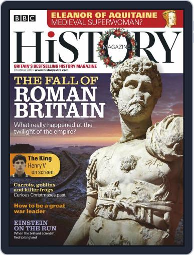 Bbc History (Digital) December 2nd, 2019 Issue Cover