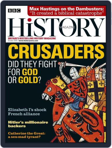 Bbc History (Digital) October 1st, 2019 Issue Cover