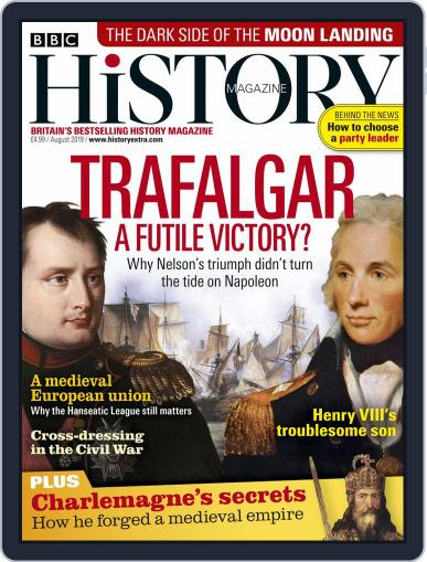 Bbc History (Digital) August 1st, 2019 Issue Cover
