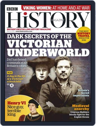 Bbc History March 1st, 2019 Digital Back Issue Cover