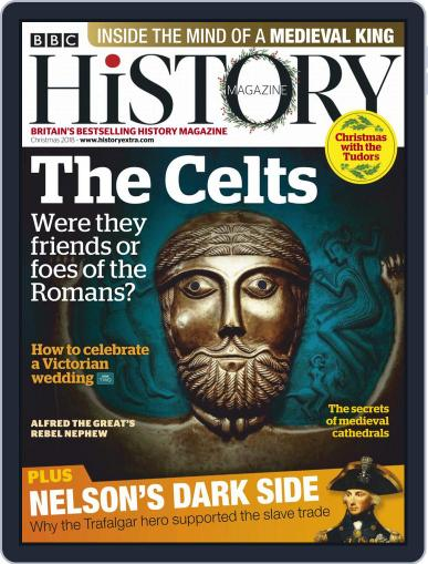 Bbc History (Digital) December 2nd, 2018 Issue Cover