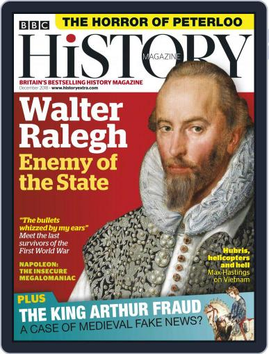 Bbc History December 1st, 2018 Digital Back Issue Cover