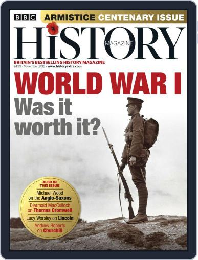 Bbc History (Digital) November 1st, 2018 Issue Cover