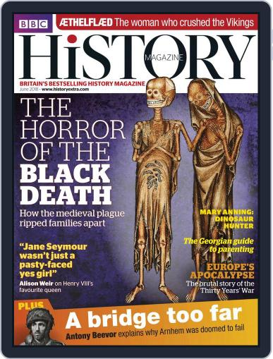 Bbc History (Digital) June 1st, 2018 Issue Cover