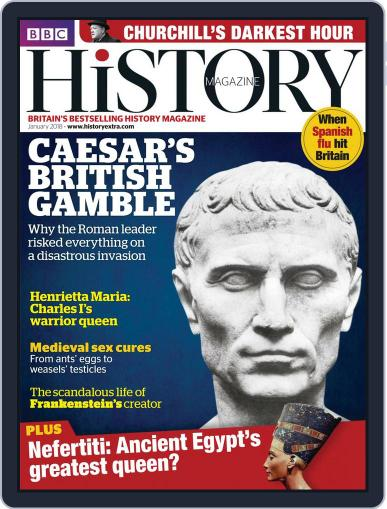 Bbc History (Digital) January 1st, 2018 Issue Cover