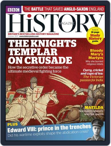 Bbc History (Digital) October 1st, 2017 Issue Cover