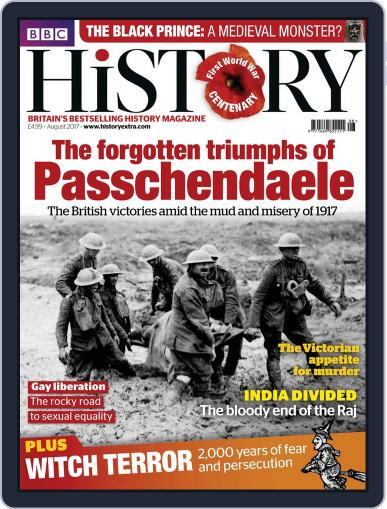 Bbc History (Digital) August 1st, 2017 Issue Cover