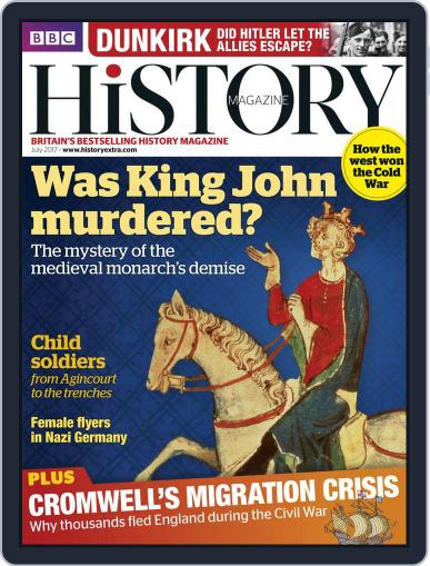 Bbc History (Digital) July 1st, 2017 Issue Cover