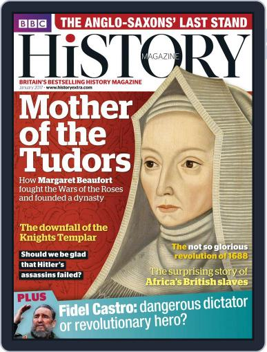 Bbc History January 1st, 2017 Digital Back Issue Cover