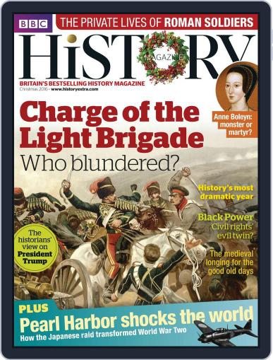 Bbc History (Digital) December 15th, 2016 Issue Cover