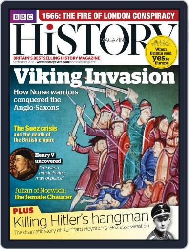 Bbc History August 12th, 2016 Digital Back Issue Cover