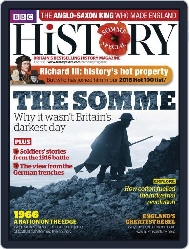 Bbc History (Digital) June 17th, 2016 Issue Cover