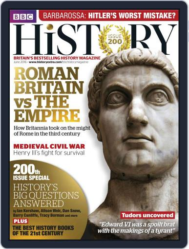 Bbc History (Digital) May 20th, 2016 Issue Cover