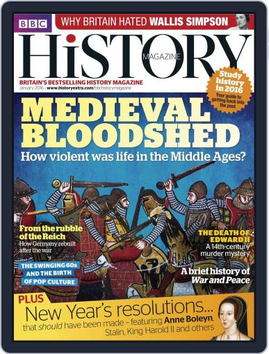 Bbc History January 4th, 2016 Digital Back Issue Cover