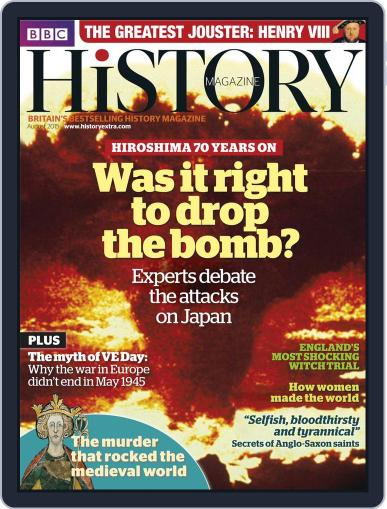 Bbc History (Digital) July 15th, 2015 Issue Cover