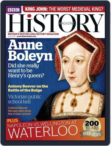 Bbc History May 22nd, 2015 Digital Back Issue Cover