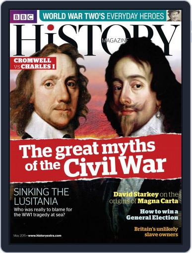 Bbc History (Digital) May 1st, 2015 Issue Cover