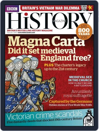 Bbc History January 28th, 2015 Digital Back Issue Cover