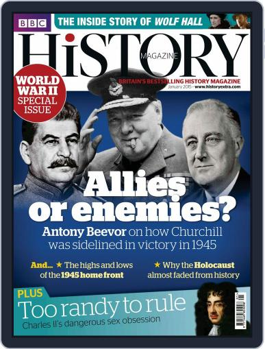 Bbc History (Digital) January 2nd, 2015 Issue Cover