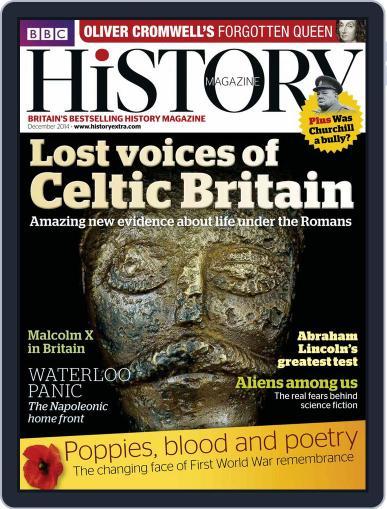 Bbc History November 5th, 2014 Digital Back Issue Cover