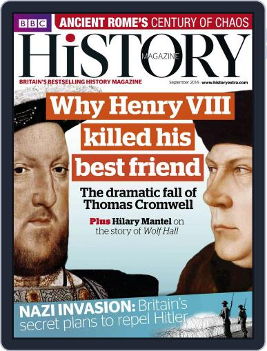Bbc History (Digital) August 19th, 2014 Issue Cover